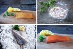 Fiskepakke til 2 personer